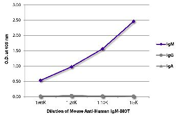 Mouse Anti-Human IgM-Biotin Conjugated